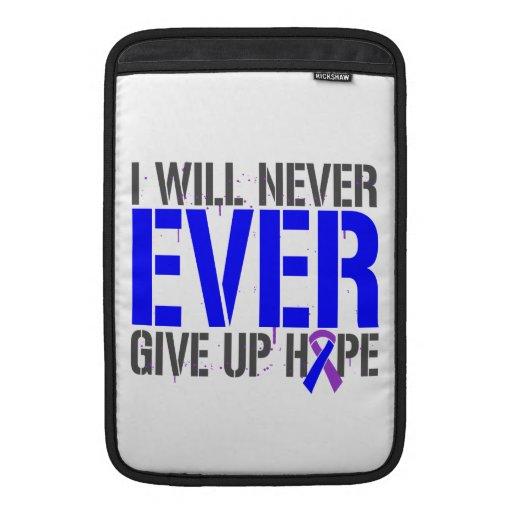 Rheumatoid Arthritis I Will Never Give Up Hope MacBook Sleeve