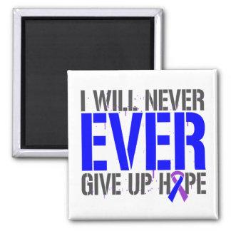 Rheumatoid Arthritis I Will Never Give Up Hope Fridge Magnet