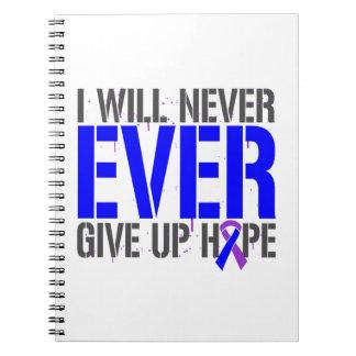 Rheumatoid Arthritis I Will Never Give Up Hope Spiral Note Books
