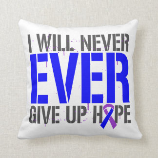 Rheumatoid Arthritis I Will Never Give Up Hope Pillow