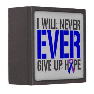 Rheumatoid Arthritis I Will Never Give Up Hope Premium Trinket Box