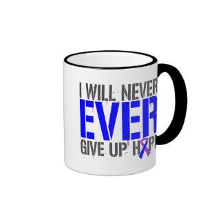 Rheumatoid Arthritis I Will Never Give Up Hope Ringer Coffee Mug