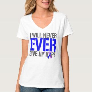 Rheumatoid Arthritis I Will Never Give Up Hope Tee Shirt