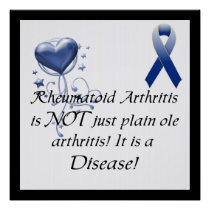 Rheumatoid Arthritis is not just..Awareness Poster
