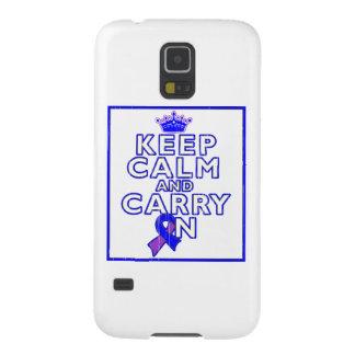 Rheumatoid Arthritis Keep Calm and Carry ON Cases For Galaxy S5
