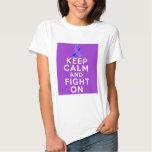 Rheumatoid Arthritis Keep Calm and Fight On Tee Shirt
