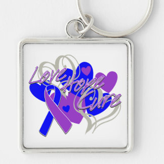 Rheumatoid Arthritis Love Hope Cure Keychain