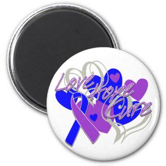 Rheumatoid Arthritis Love Hope Cure Fridge Magnet
