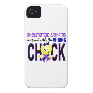 Rheumatoid Arthritis Messed With Wrong Chick iPhone 4 Case-Mate Cases