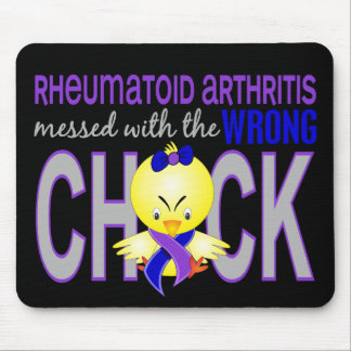 Rheumatoid Arthritis Messed With Wrong Chick Mouse Pad