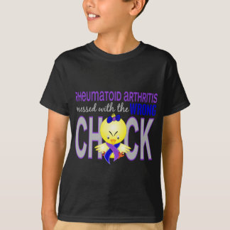 Rheumatoid Arthritis Messed With Wrong Chick T-Shirt