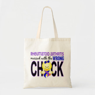 Rheumatoid Arthritis Messed With Wrong Chick Tote Bag