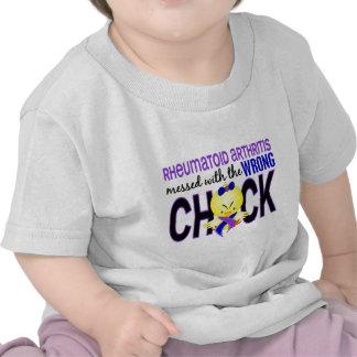 Rheumatoid Arthritis Messed With Wrong Chick Shirts