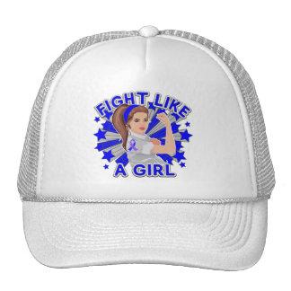 Rheumatoid Arthritis Mod Rosie Fight Like a Girl Trucker Hat