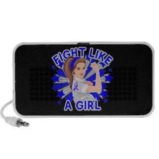 Rheumatoid Arthritis Mod Rosie Fight Like a Girl iPod Speakers