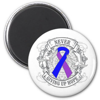 Rheumatoid Arthritis Never Giving Up Hope 2 Inch Round Magnet