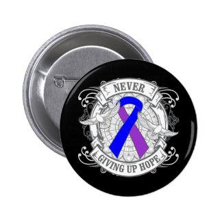 Rheumatoid Arthritis Never Giving Up Hope Pin