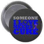 Rheumatoid Arthritis Someone I Love Needs A Cure Pinback Buttons