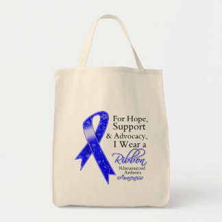 Rheumatoid Arthritis Support Hope Awareness Bags