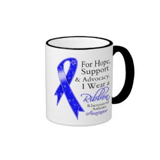Rheumatoid Arthritis Support Hope Awareness Mug