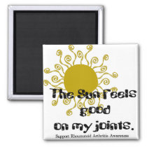 Rheumatoid Arthritis :: The Sun feels good on... Magnet