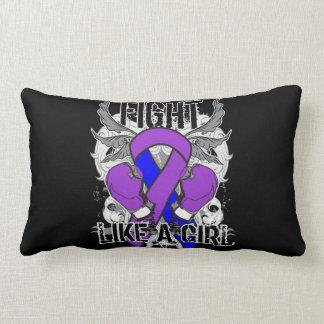 Rheumatoid Arthritis Ultra Fight Like A Girl Throw Pillows