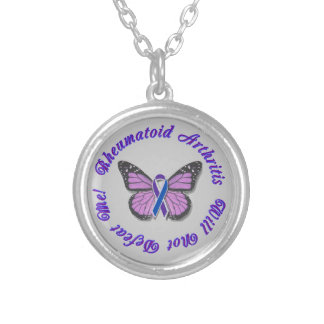 Rheumatoid Arthritis Won't Defeat Me Necklace