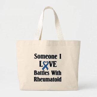 Rheumatoid RA Canvas Bags