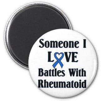 Rheumatoid RA Fridge Magnet