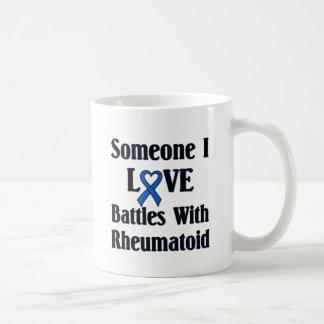 Rheumatoid RA Classic White Coffee Mug