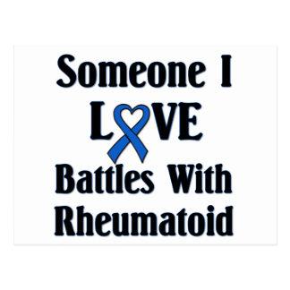 Rheumatoid RA Postcard