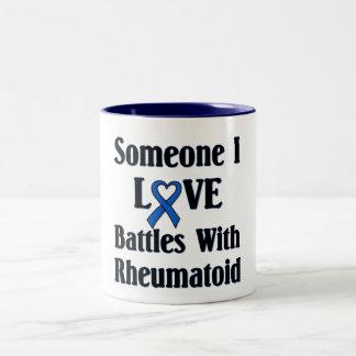 Rheumatoid RA Two-Tone Coffee Mug