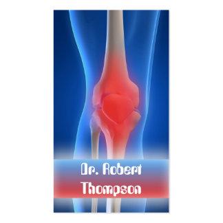 Rheumatologist / Orthopaedist / Trauma Card Business Card Templates