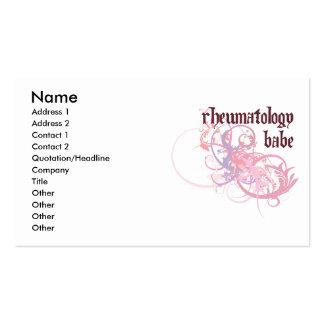 Rheumatology Babe Business Card