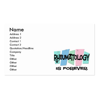 Rheumatology Is Forever Business Card