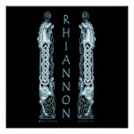 Rhiannon Celtic Art Prints