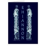 Rhiannon Celtic Horse Card