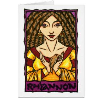 Rhiannon Greeting Card
