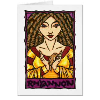 Rhiannon Greeting Card