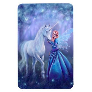 Rhiannon - Unicorn and Fairy Premium Flexi Magnet