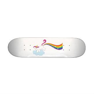 Rhiannon's Unicorn Custom Skate Board