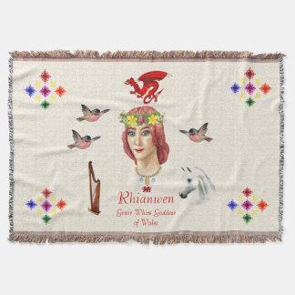 Rhianwen Tapestry Throw