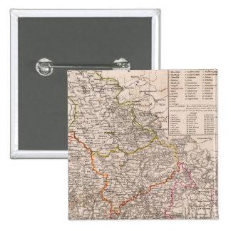 Rhin Provinz, Alemania Pins