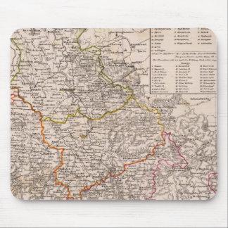 Rhin Provinz, Alemania Alfombrillas De Raton
