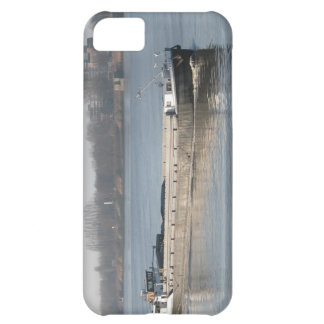 Rhine barges, coal, sand and gravel in bulk iPhone 5C case