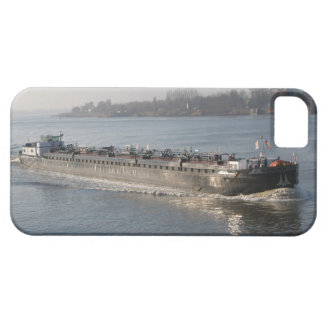 Rhine barges,tanker passing Antwerp iPhone 5 Cases
