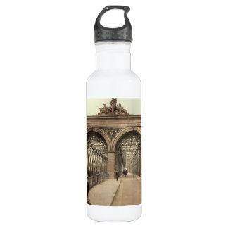 Rhine Bridge, Mannheim, Germany Water Bottle