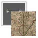 Rhine River Valley in Germany and France Pinback Button