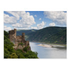 Rhine Valley - Castle Rheinstein postcard