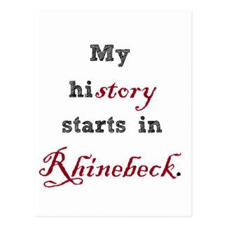 Rhinebeck es mi historia postales